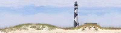 Arnold Wilbert Burial Vault Legacy Personalization: Cape Lookout / Lighthouse